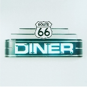 ROUTE 66 DINER NEON SIGN
