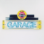 CHEVY PARTS GARAGE NEON SIGN