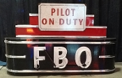 FBO NEON SIGN - Pilot on Duty