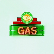 LAST CHANCE GAS NEON SIGN