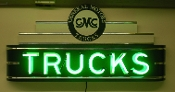 GMC TRUCKS Neon Sign