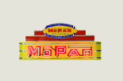 MOPAR Yellow Neon Sign - M48