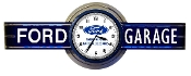 V8 USED CARS NEON CLOCK SIGN